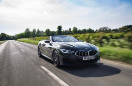 BMW 8-Series convertible, front