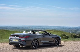 BMW 8-Series convertible, rear