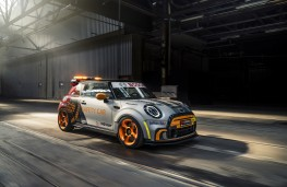 MINI Electric Pacesetter inspired by JCW, 2021, front