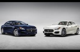 Maserati Quattroporte, 2016, GranLusso (left), GranSport (right)