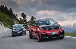 BMW i3 and i3s, 2017, front, action