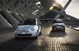 Fiat 500 and Panda hybrids, 2020, front