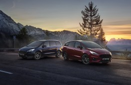 Ford Galaxy and S-Max hybrid
