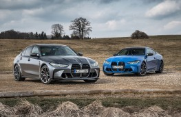 BMW M3 and M4 Competition xDrive, 2021, front