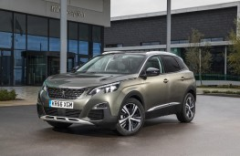 Peugeot 3008, 2017, Allure, front, static