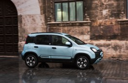 Fiat Panda hybrid, 2020, side