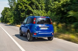 Fiat Panda City Cross, 2017, rear