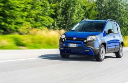 Fiat Panda City Cross, 2017, side