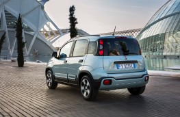 Fiat Panda hybrid, 2020, rear