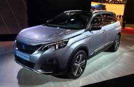 Paris Motor Show 2016, Peugeot 5008, front