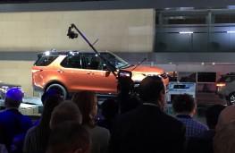 Paris Motor Show 2016, Land Rover Discovery, reveal