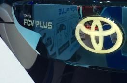 Paris Motor Show 2016, Toyota FCV Plus concept, badge