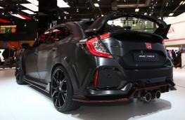 Paris Motor Show 2016, Honda Civic Type R prototype, rear