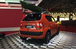 Paris Motor Show 2016, Suzuki Ignis, rear