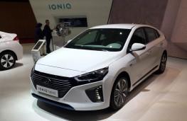 Paris Motor Show 2016, Hyundai Ioniq