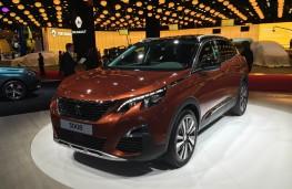 Paris Motor Show 2016, Peugeot 3008, front