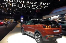 Paris Motor Show 2016, Peugeot 3008, rear