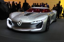 Paris Motor Show 2016, Renault Trezor, front