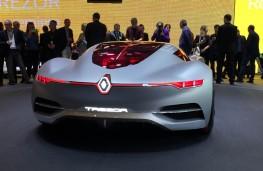 Paris Motor Show 2016, Renault Trezor, rear