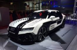 Paris Motor Show 2016, Audi RS7 piloted drive concept