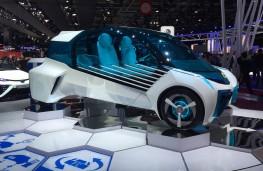 Paris Motor Show 2016, Toyota FCV Plus concept