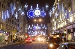 Festive city centre - but nowhere to park