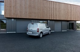 Peugeot Partner, 2019, rear