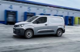 Peugeot Partner, 2019, side