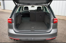 Volkswagen Passat Estate, boot