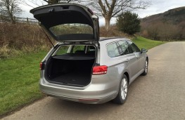 VW Passat estate, boot