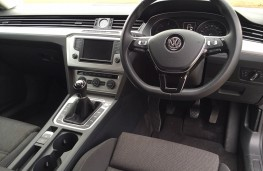 VW Passat estate, interior