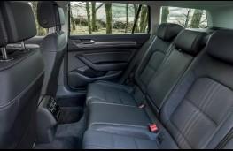 Volkswagen Passat Alltrack, rear seats
