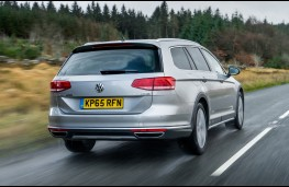Volkswagen Passat Alltrack, rear
