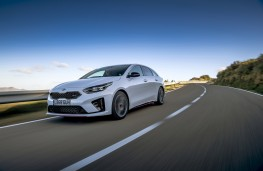 Kia ProCeed GT, 2019, front