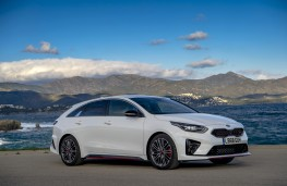 Kia ProCeed GT, 2019, front, static