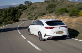 Kia ProCeed GT, 2019, rear, action