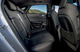 Kia ProCeed GT, 2019, rear seats