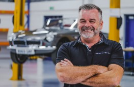Peter Swain, RBW Classic Cars, managing director