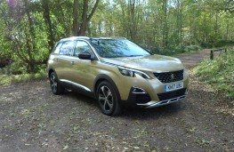Peugeot 5008, front static 2