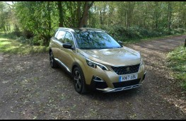 Peugeot 5008, front static