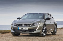Peugeot 508 SW, front static 2