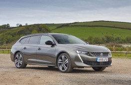 Peugeot 508 SW, front static 3