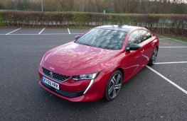 Peugeot 508, front static