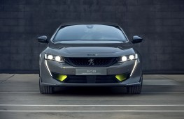 Peugeot 508PSE Concept head on