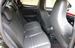 Peugeot 108 GT Line, rear seats