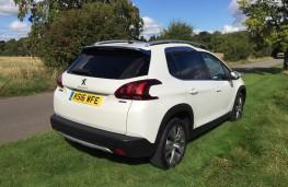 Peugeot 2008, rear