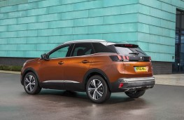 Peugeot 3008 SUV, rear static