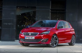 Peugeot 308 GTI, front static