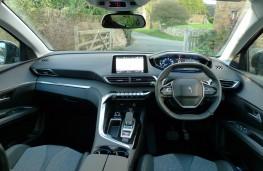 Peugeot 5008, dashboard