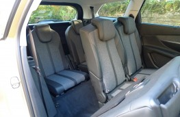 Peugeot 5008, third row seats